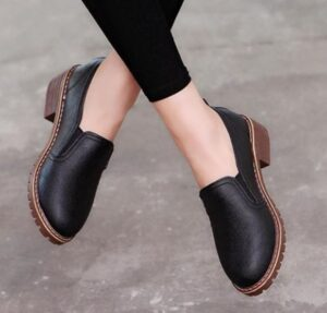 round toe shoes